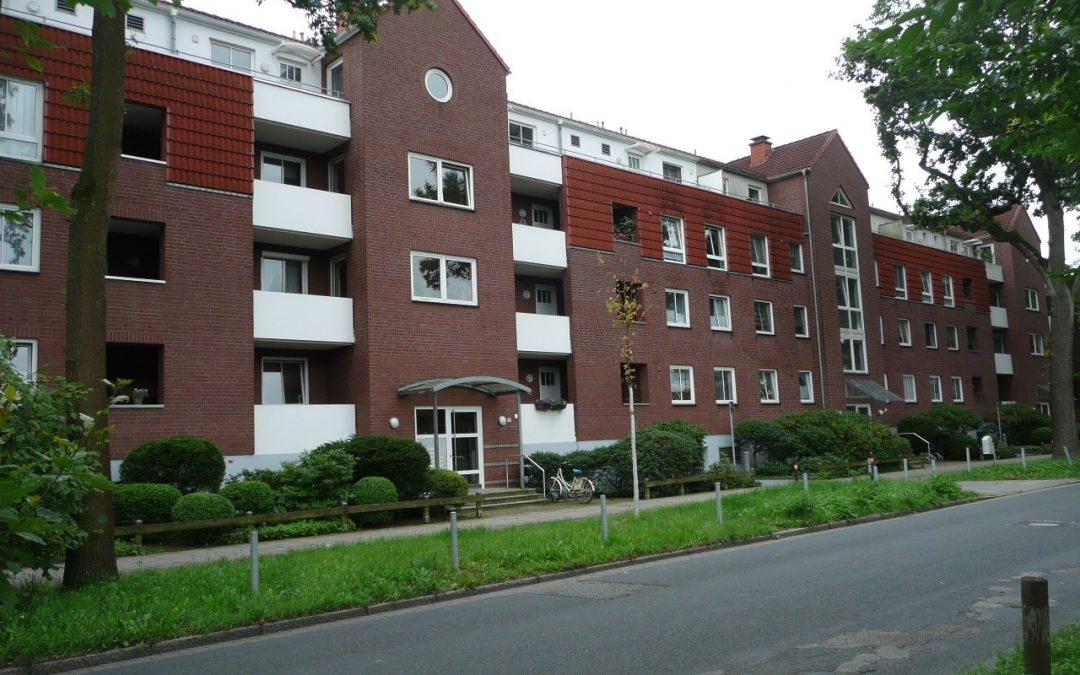 Schevemoor – Helle 2-Zimmer-Wohnung mit Balkon und Lift im Haus